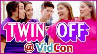 getlinkyoutube.com-Twin Challenge Epic Rap Battle MerrellTwins vs. NinaAndRanda at VidCon