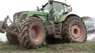 getlinkyoutube.com-936 Vario BIG TIRES + Lemken Juwel 8 - Ploughing in Italy 2014