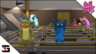 getlinkyoutube.com-Gang Beasts #11 online multiplayer Funny Moments