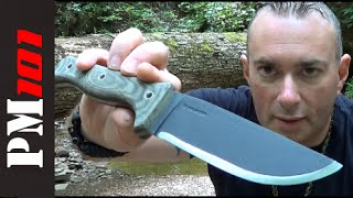 getlinkyoutube.com-Condor Crotalus: Best Budget Survival Bushcraft Knife?   - Preparedmind101
