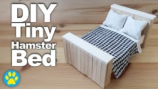 getlinkyoutube.com-DIY Tiny Hamster Bed