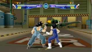 getlinkyoutube.com-Dragon Ball Z: Budokai 3 HD - Goku vs Vegeta + Gohan vs Piccolo