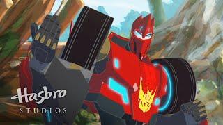 Transformers: Robots in Disguise - Meet Sideswipe