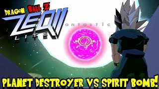 getlinkyoutube.com-PLANET DESTROYER VS SPIRIT BOMB! | Dragon Ball Z Zeq2 Gold Revolution (w/ Rhymestyle and jDantastic)