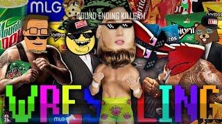 getlinkyoutube.com-EPIC MLG MEMER-THEMED WRESTLING | /r/Montageparodies Wrestling 420 Montageparody.gif