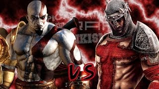 getlinkyoutube.com-Kratos vs Dante. Épicas Batallas de Rap del Frikismo | Keyblade