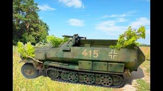 getlinkyoutube.com-Sdkfz 251/1 Hanomag. Normandy, 1944    1/35 Tamiya