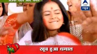 getlinkyoutube.com-Success party of Sasural Simar Ka and Saath Nibhana Saathiya
