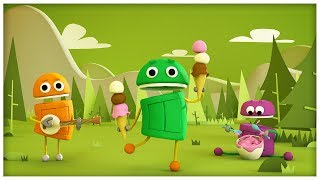 """getlinkyoutube.com-""""Comin' Round the Mountain """" Classic Songs by StoryBots"""