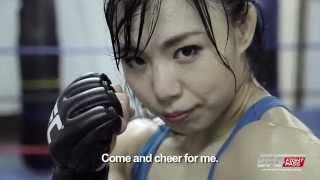 UFC Fight Night Japan - Rin Nakai: A fighting queen