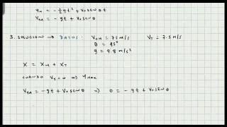 getlinkyoutube.com-Movimiento en dos Dimensiones - Tiro Parabolico - Movimiento de Proyectiles - Cinematica - Video 111