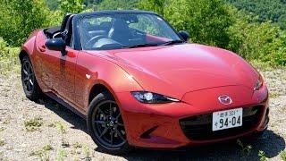 getlinkyoutube.com-【爽快】新型マツダロードスター(ND型)1日試乗インプレッション Mazda MX-5 Japanese Ver