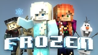 getlinkyoutube.com-Minecraft Parody - FROZEN! - (Minecraft Animation)