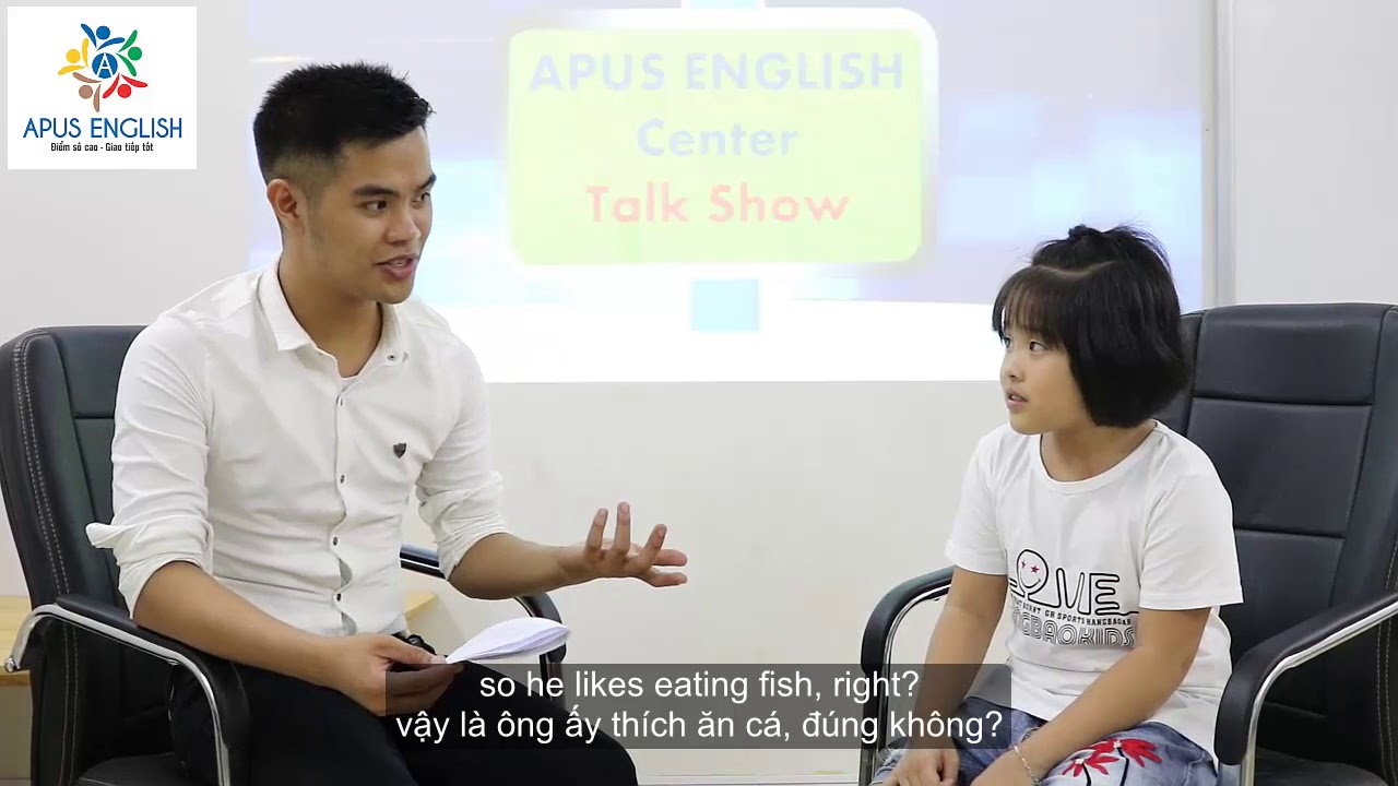 APUS English Talk Show - khách mời Ms Anna