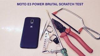 getlinkyoutube.com-Moto E3 Power Screen Scratch Test Gorilla Glass 3 | Shocking Result Must Watch