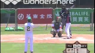 getlinkyoutube.com-IBAF 12U BWC Mexico vs Philippines