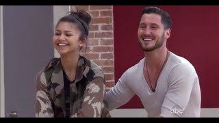 getlinkyoutube.com-All of Val & Zendaya's Rehearsal Packages from DWTS