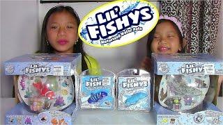getlinkyoutube.com-Lil' Fishys Motorised Water Pets Aquarium Playsets - Kids' Toys