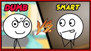 SMART VS DUMB GAMERS!!! PARODY PARODY!!