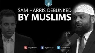 getlinkyoutube.com-Sam Harris Debunked by Muslims   Religious vs Non Religious Atheist Violence