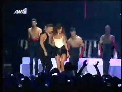 Nikos Gkanos & Katerina Stikoudi - Break me in the dark @ MAD VMA 2012
