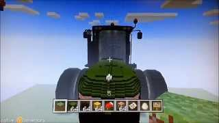 getlinkyoutube.com-World's Largest Minecraft Tractor