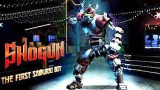 getlinkyoutube.com-Real Steel WRB The First Samurai Bot - Shogun VS WRB I NEW ROBOT (Живая Сталь)