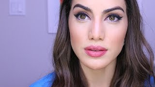getlinkyoutube.com-My Current Go-to Everyday Makeup | Makeup Tutorials and Beauty Reviews | Camila Coelho