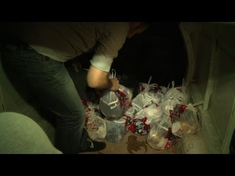 Gazans get KFC via tunnels from Egypt