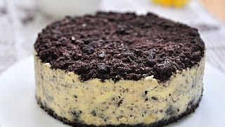 getlinkyoutube.com-奧利奧乳酪蛋糕。OREO cheesecake
