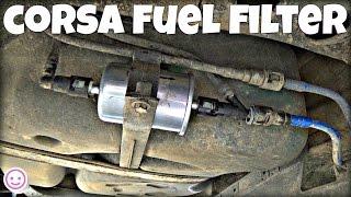 getlinkyoutube.com-Corsa C Fuel Filter Replacement