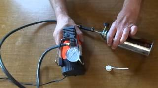 getlinkyoutube.com-Как сделать самодельный многоразовый баллон сжатого воздуха для чистки компьютера. 清洁灰尘您的计算机