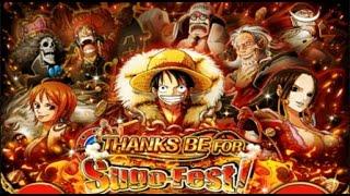 getlinkyoutube.com-Sugo Rare!!! 210 Gems Log Luffy Sugo-Fest Rare recruits