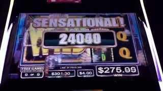 getlinkyoutube.com-MAX BET HUGE WIN Temple Tiger Slot Machine Bonus Free Spins