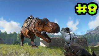 getlinkyoutube.com-ARK survival evolved - El Pistolero mas rápido - Cazando el T - Rex y el Spinosaurus