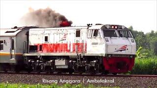 getlinkyoutube.com-Lokomotif Kereta Api Argo Wilis - CC 203 02 Kobong