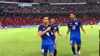 """getlinkyoutube.com-จังหวะต่อบอล 22 ครั้ง ก่อนที่ """"เมสซี่เจ"""" จะยิงประตู ปิดท้าย ไทย 5 - 0 อินโดนีเซีย"""