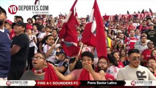 Sector Latino Chicago Fire 4 -1 Seattle Sounders