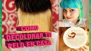 getlinkyoutube.com-Cómo decolorar el pelo en casa ( antes, durante, después )