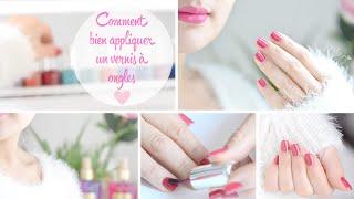 getlinkyoutube.com-Bien poser son vernis à ongles (et sur l'autre main) + astuces pour nettoyer