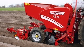 Grimme GL 420 potato planter with RT 300 Rota Tiller