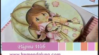 getlinkyoutube.com-Mimi Luna creando ARTE FRANCES con Vanilda Lizot