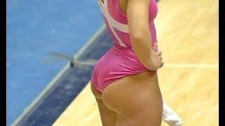 getlinkyoutube.com-Bridgette Glass, el mejor trasero de la gimnasia o photoshopazo