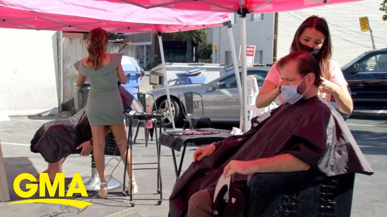 Salons & Barbershops Head Outside