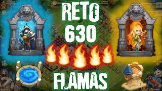 getlinkyoutube.com-Castillo Furioso: RETO 630 FLAMAS