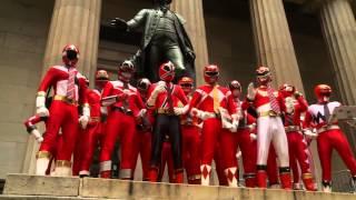 getlinkyoutube.com-Power Rangers Celebrate 20th Anniversary in the Big Apple!