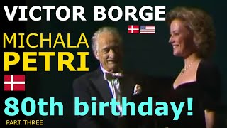 getlinkyoutube.com-Victor Borge - 80th birthday - English subtitles available