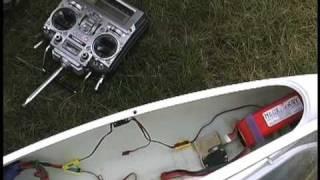 getlinkyoutube.com-R/C Glider WINDEX Electric Flight