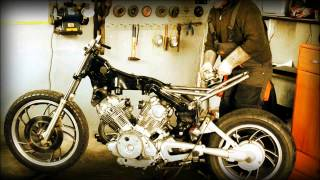 getlinkyoutube.com-tuning motocykla chopper yamaha xv750 SPAW-MAN