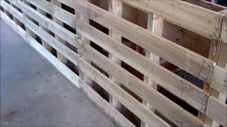 getlinkyoutube.com-Make A Small Livestock Working Chute From PALLETS~Part 1